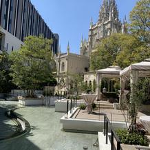 大聖堂のチャペルの外観