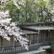 生田神社会館から