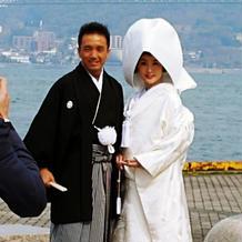 関門海峡と関門橋が素晴らしいロケーション