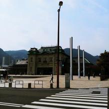 門司港駅が美しい。駅から徒歩1分。