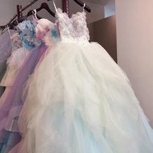 ドレスサロンのカラードレス(1)