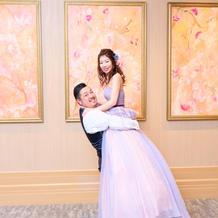 結婚式後に素敵な写真を撮影して頂きました