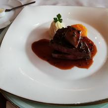 お肉とフォアグラ