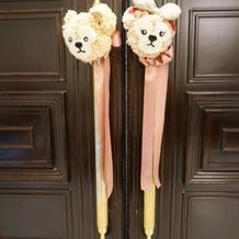 ダッフィーシェリーメイのお花