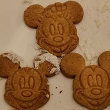 デザートブッフェ ミッキーのクッキー