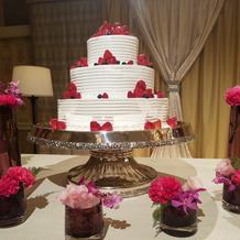イミテーションのケーキ