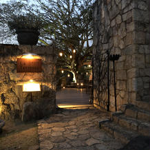 夜のレストラン とても美味しいお店です