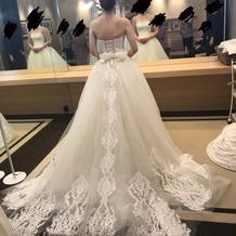 白ドレス(当日着用)