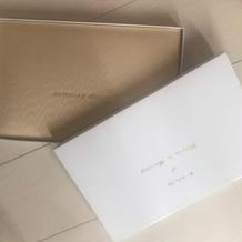 式場の結婚証明書