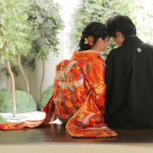 結婚式前の着物写真(費用別)