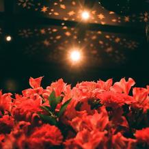 いつもお洒落なエントランス装花