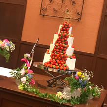 セミオーダーのケーキ