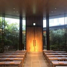祭壇からの景色