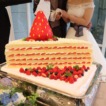 オーダーのケーキが理想通りでした!