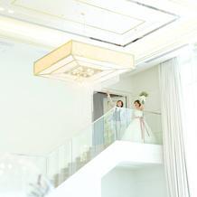 披露宴会場は階段入場できます
