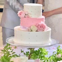 オリジナルウェディングケーキで