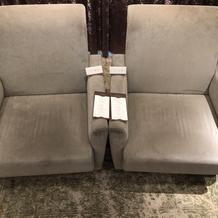 新郎新婦椅子
