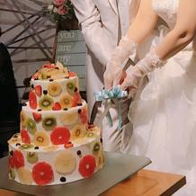 とても可愛いケーキでした
