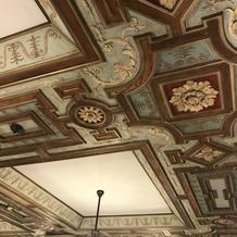 天井が本当に美しいです!