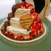 ケーキドリップ