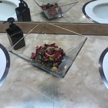 トイレのお花がオシャレでした