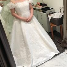 式場のドレスです