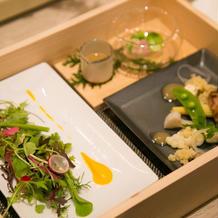 前菜(木箱入り)