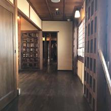 レストラン二階
