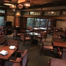 レストラン内①