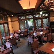 レストラン内②
