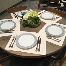 最大7名テーブル