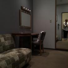新郎新婦控え室