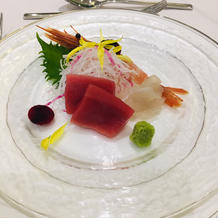 14000円のコースの前菜