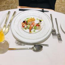 16000円のコースの前菜