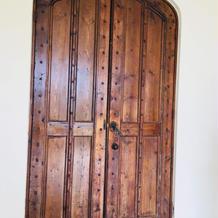 チャペルのドアは17世紀のものらしい