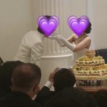 ケーキも可愛かった!
