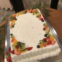 ケーキ。おかわり自由でした。