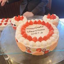 ウエディングケーキデザインは希望できます
