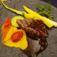 埼玉県産武州和牛フィレ肉のグリエ