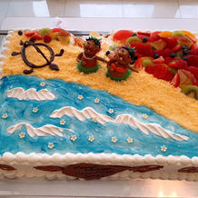 素敵なケーキありがとうございます