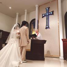 チャペル 教会式
