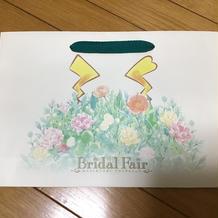 ポケモンブライダル紙袋