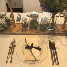 会食テーブル