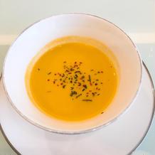 にんじんとコーンのスープ