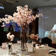 披露宴会場「桜」