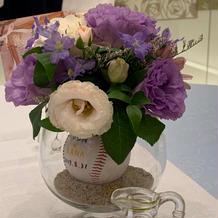 ゲストテーブル お花