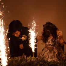 花火の演出