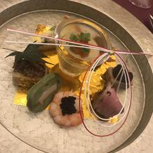 試食の時の料理