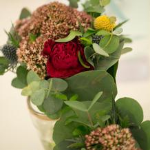 メインテーブル生花