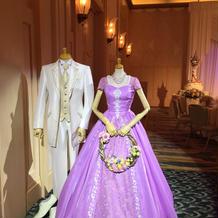 ラプンツェルのカラードレス